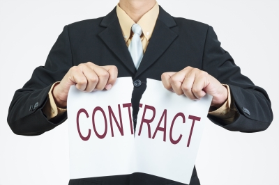 breaking a contract