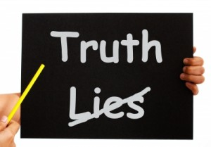 remove lies, truth remains